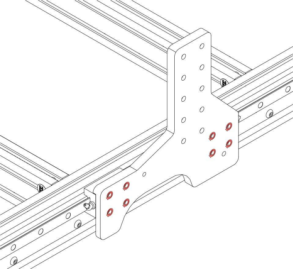 PRO Series 4848 Assembly 2.3. RISERS • Tighten the highlighted fasteners. PRO Series 4848 Assembly Version