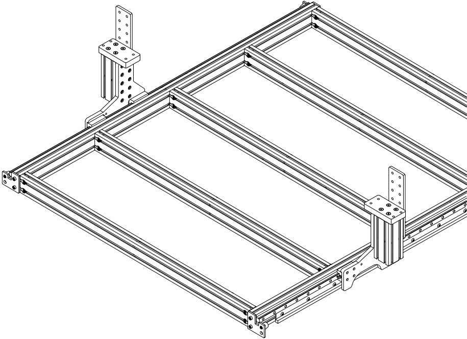 PRO Series 4848 Assembly 2.3. RISERS • Repeat these steps on the other side of the