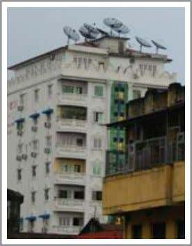 Empowering Civic Engagement Through Digital Technologies Illegal satellite receivers in Yangon. Screenshot of
