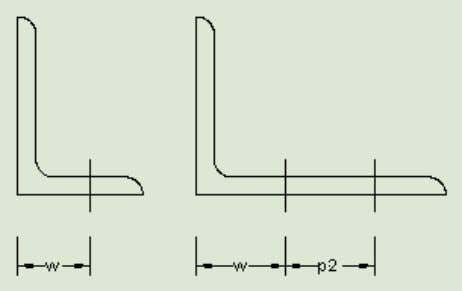 its in the diagonal and column elements. Geometrical configurations Geometrical configurations for w, e1, e2, p1,
