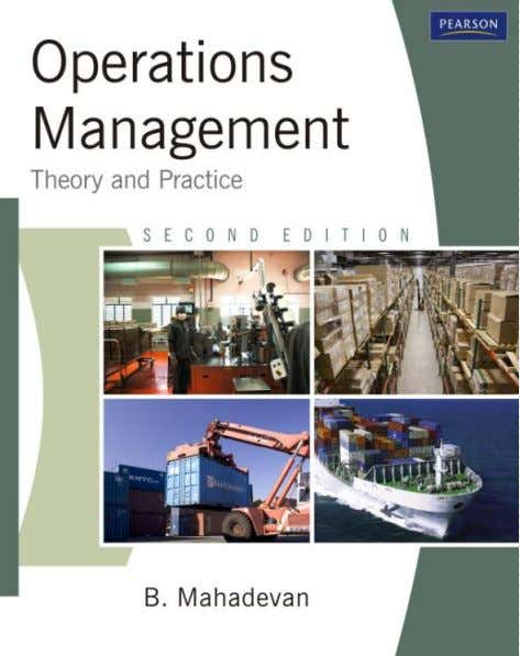 Chapter 4 Design of Manufacturing Processes