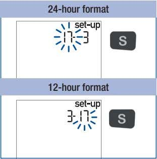 24-hour format 12-hour format