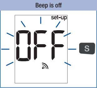 Beep is off
