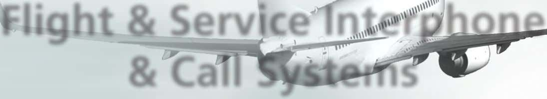 Flight & Service Interphone & Call Systems Training manual For training purposes only LEVEL 3 ATA