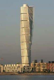 (see Figure 1). Norman Foster Swiss Re Building Figure 1: Santiago Calatrava Tower at Malmo Rem