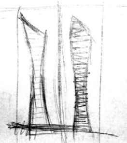 and Construction Figure 2: Major elements of a skyscraper. Figure 3: Concept – female human figure.