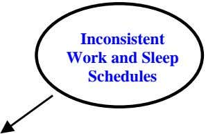 Inconsistent Work and Sleep Schedules