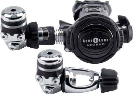 have to worry about adjusting the regulator during the dive. Part # description 129860 Legend Glacia-Yoke