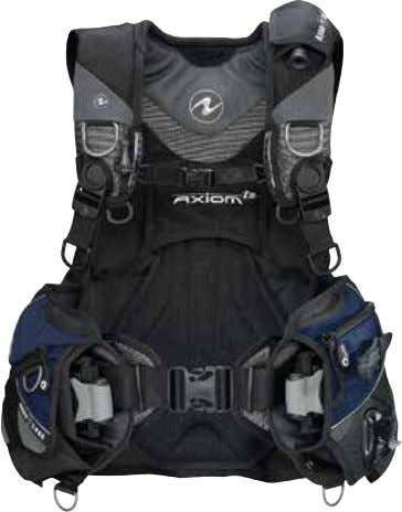 BC'S & ACCESSORIES AXIOM i 3 The Axiom i3 is our most comfortable and easy-to-use BC