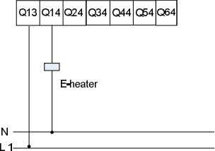 Outputs The following is a wiring example with relay output. 3.8 Wiring with Analog Outputs The