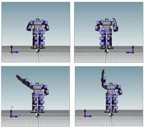 recognition response to be used are shown in figure 8. Fig. 8. Robot Position for Speaker