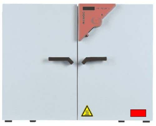 Pictograms (Warning signs) Service label Hot surface Figure 1: Position of labels on the unit Keep