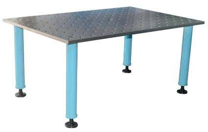 2DS Welding Table Available in Steel. Only require 4 legs.   2DS Welding Table (D28 Series)