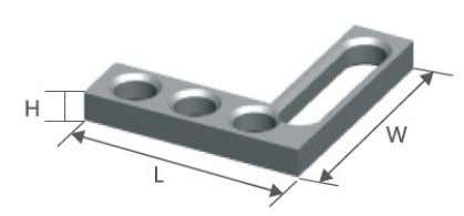 Plane Angles 1. Flat Square Features:  The Flat square can be firmly fixed or variably