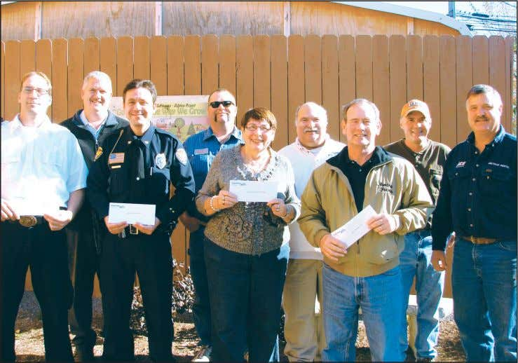 Photo submitted Local organizations receive Canal Days funds More than $30,000 in 2010 Canal Days