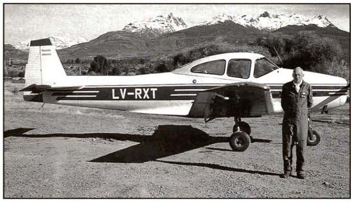 Navion from Argentina This photo of a 1946 Ryan Navion, Ar­ gentine registered LV-RXT, SIN