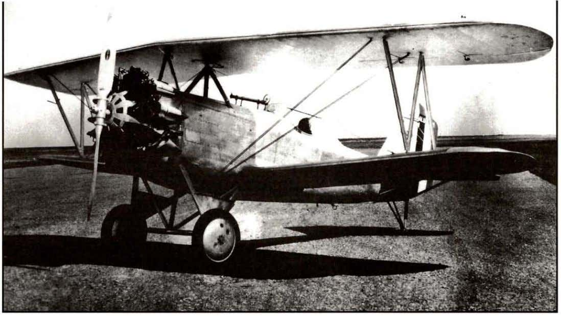 by H.G. Frautschy C-4 engine rated at 125 hp. Type certificate was issued 8-24­ 37.