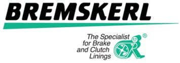DIN 15435 Overhead Crane Linings Bremskerl 5387 Non-Asbestos Benefits OE quality material Material designed for high