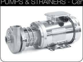 - Centrifugal, Rotary Lobe, Filters and Strainers VALVES - Manual, Actuated, Diaphragm FITTInGS - Clamp,