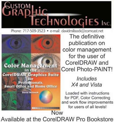 be reached at wfleek@jblgraphics.com or 281-970-6677. cDH CorelDRAW Help ®   Click ads to go directly