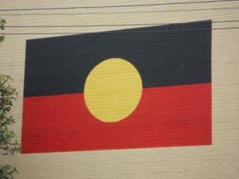 a key guiding principle in Aboriginal affairs policy-making. Aboriginal flag Photo by Michael Coghlan , available