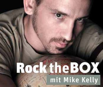 Rock theBOX mit Mike Kelly