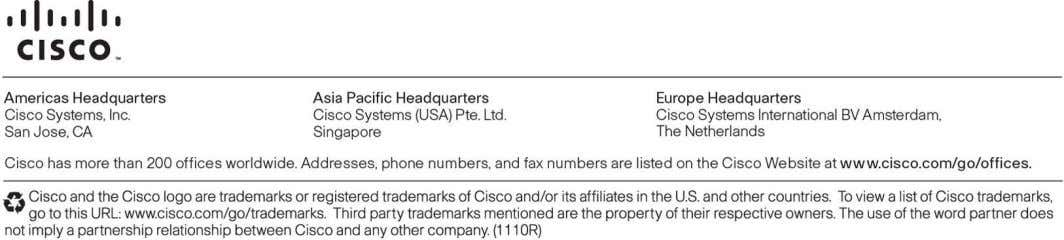 visit: http://www . cisco . com/go/unifiedwireless . Printed in USA C78-648142-03 02/12 © 2012 Cisco and/or