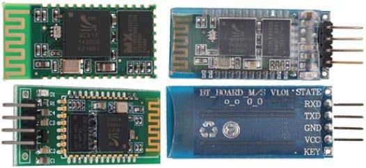 RS232, Bluetooth Serial, HC-03, HC-04, HC-05, HC-06. Most modules use a chip BC417 and Flash memory.