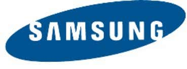 Publication Information Samsung Business Communications reserves the right without prior notice to revise information in