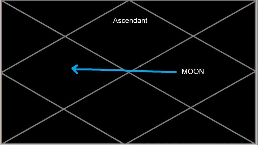 The Moon in the 10th house shows that for the 10 year Moon cycle the