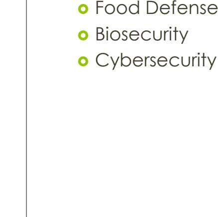  Food Defense  Biosecurity  Cybersecurity