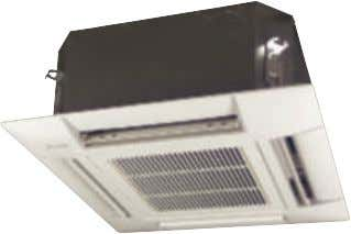 for shops, restaurants and offices 4-WAY BLOW CEILING MOUNTED CASSETTE (600x600mm) www.daikineur ope.com FFQ -B7