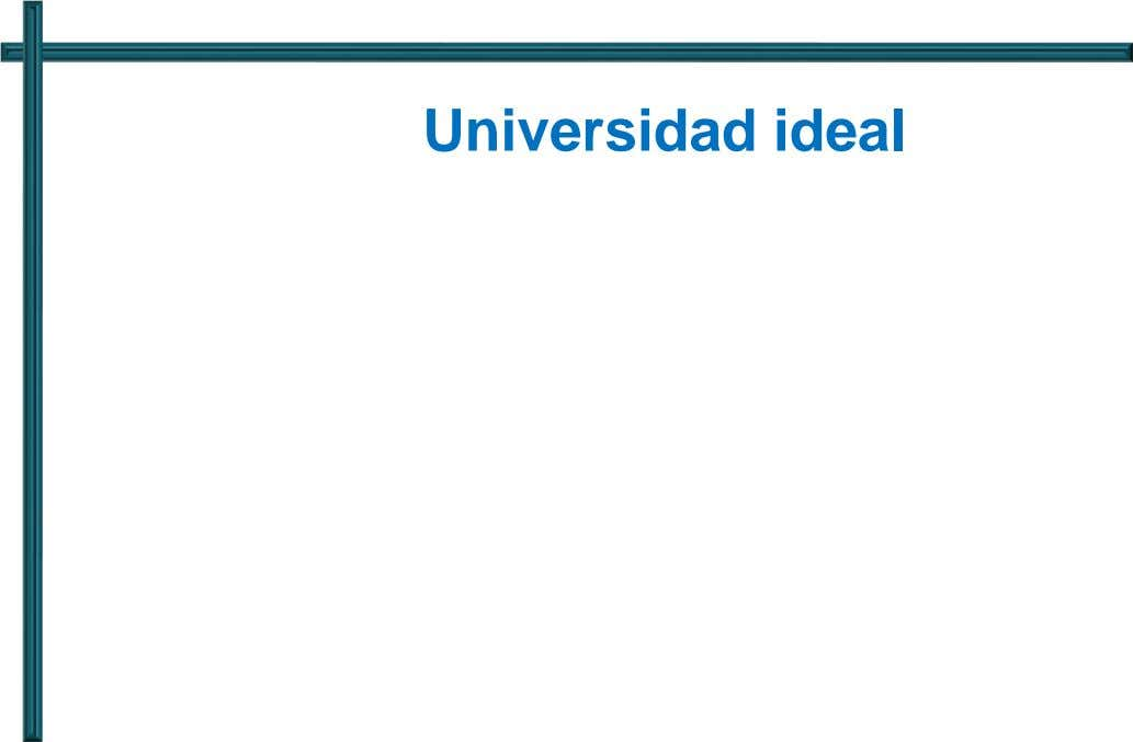 Universidad ideal