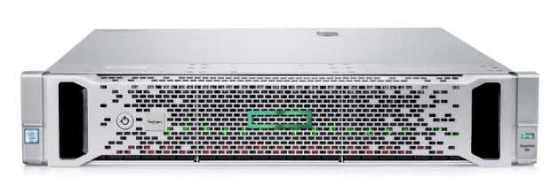MSA 2052 Storage QuickSpecs. HPE ProLiant DL380 Gen9 server Figure 2. HPE ProLiant DL380 Gen9 server