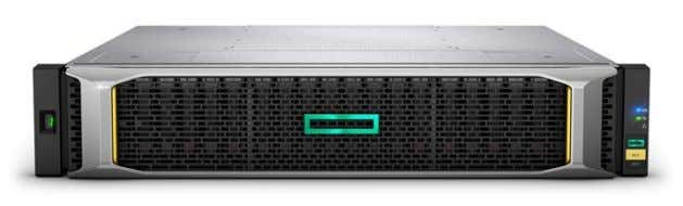 Technical white paper Page 4 HPE MSA 2050/2052 storage Figure 1. HPE MSA 2050/2052 storage system