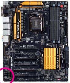 your motherboard revision before updating motherboard BIOS, drivers, or when looking for technical information. Example: