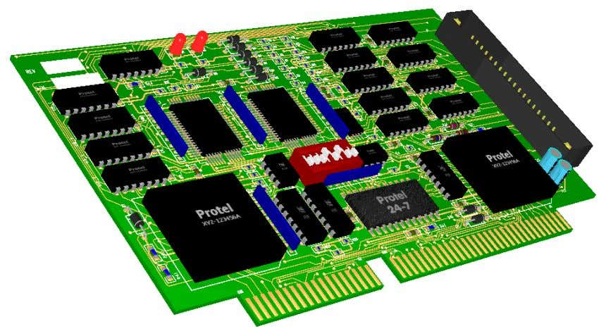3 Dimensional PCB Visualization The 3D Viewer is a visualization tool that allows you to preview