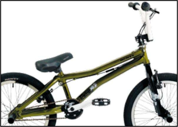 "BMX & FREE Free 302 20"" KG 14,310 freestyle-competiton-training // cuadro // frame // cadre //"