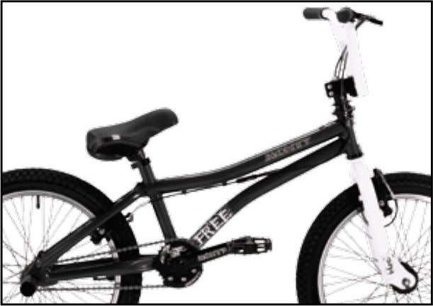 "BMX & FREE Free 301 20"" KG 15,500 freestyle-street training // cuadro // frame // cadre"