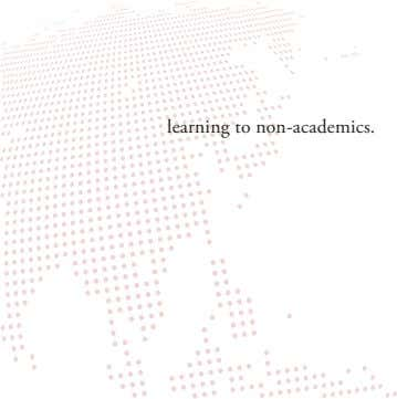 learning to non-academics.