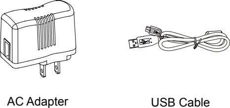 AC Adapter USB Cable