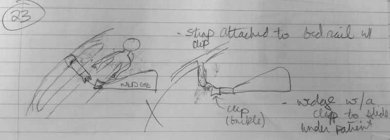 Figure 25: Sketch of Concept 21 Figure 26: Sketch of Concept 22 Figure 27: Sketch of