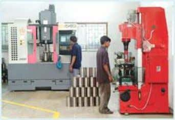 Machining Machining Process Description : The casting are shot blasted and are sent to the machine