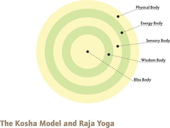 Physical Body Energy Body Sensory Body Wisdom Body Bliss Body The Kosha Model and raja