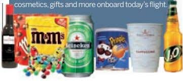 117–146 Check out all our latest offers on food, drink, cosmetics,c t. gifts and more onboard
