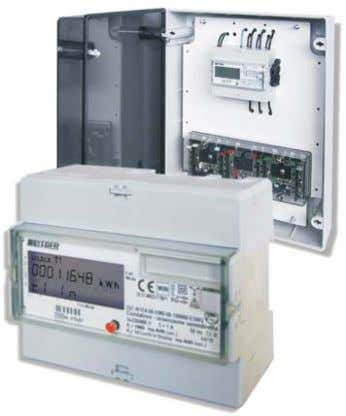 MID STATIC ACTIVE ENERGY METERS ACCORDING TO MID DIRECTIVE kg. 0,400 Trifase 3 fili Aron -