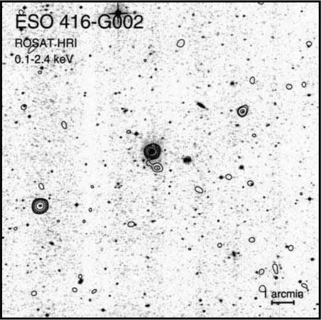 as Quasar Factories 53 Fig. 2-17. The Seyfert galaxy ESO 416-G002 is about z = .03