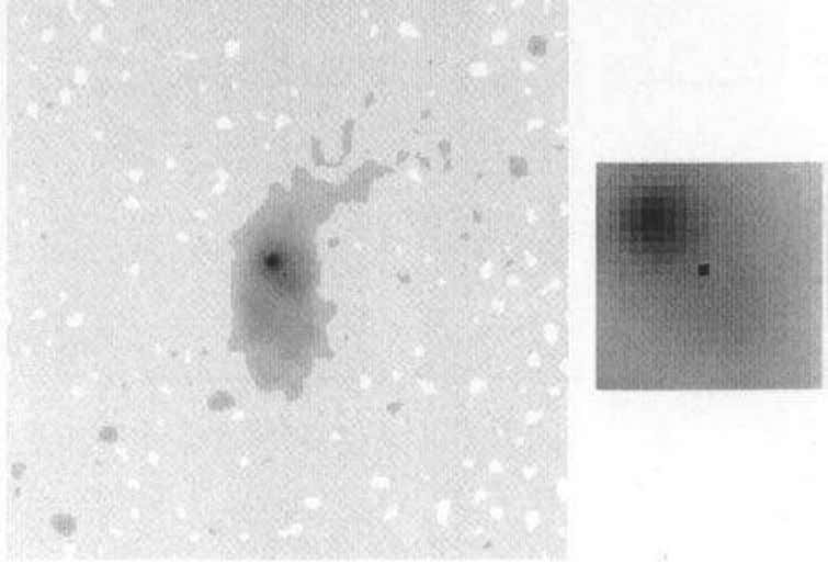 56 Seyfert Galaxies Fig. 2-18. The nearby quasar 3C48 as registered on co- added photographs with