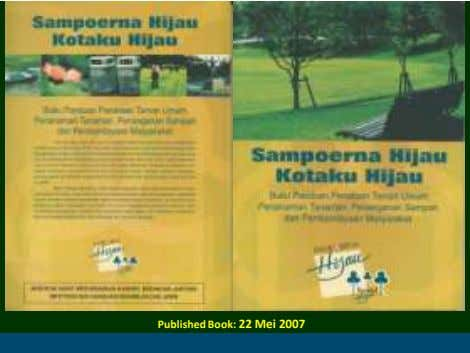 Published Book: 22 Mei 2007