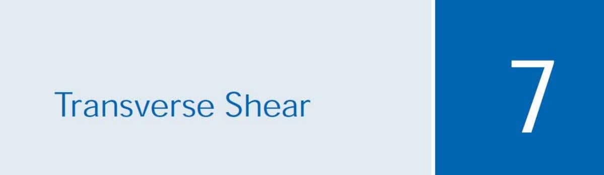 Chapter Objectives  Determine shear stress in a prismatic beam  Determine the shear flow